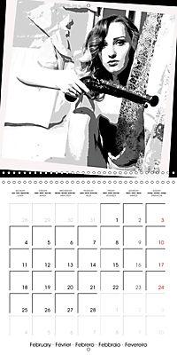 FORGOTTEN WORDS (Wall Calendar 2019 300 × 300 mm Square) - Produktdetailbild 2