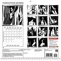 FORGOTTEN WORDS (Wall Calendar 2019 300 × 300 mm Square) - Produktdetailbild 13