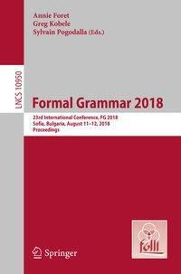 Formal Grammar 2018