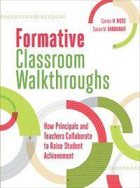 Formative Classroom Walkthroughs, Susan M. Brookhart, Connie M. Moss