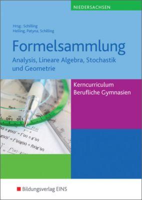 Formelsammlung, Kerncurriculum Berufliche Gymnasien Niedersachsen