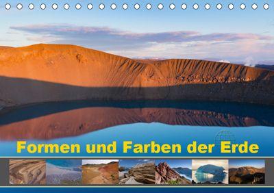 Formen und Farben der Erde (Tischkalender 2019 DIN A5 quer), Johann Schörkhuber