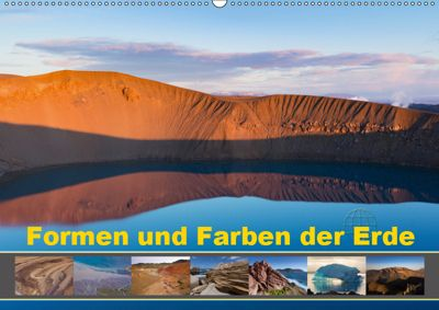 Formen und Farben der Erde (Wandkalender 2019 DIN A2 quer), Johann Schörkhuber