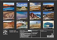 Formen und Farben der Erde (Wandkalender 2019 DIN A2 quer) - Produktdetailbild 13