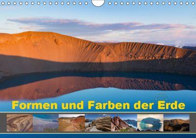 Formen und Farben der Erde (Wandkalender 2019 DIN A4 quer), Johann Schörkhuber