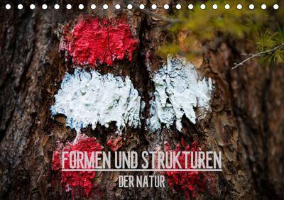 Formen und Strukturen der Natur (Tischkalender 2019 DIN A5 quer), Mike Grimm