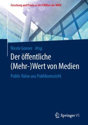 Forschung und Praxis an der FHWien der WKW: Der öffentliche (Mehr-)Wert von Medien