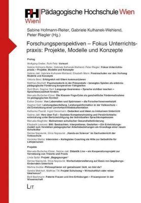Forschungsperspektiven - Fokus Unterrichtspraxis: Projekte, Modelle und Konzepte -  pdf epub