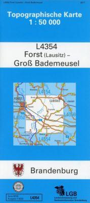 Forst (Lausitz) - Groß Bademeusel 1 : 50 000 -  pdf epub