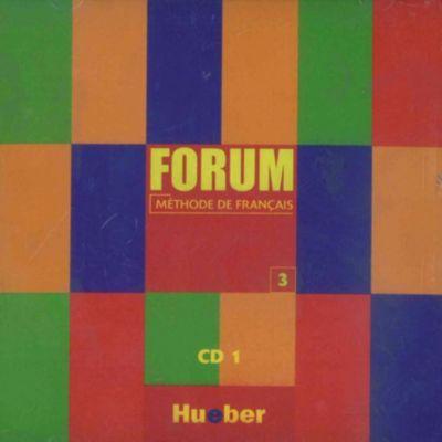 Forum - Méthode de français: Bd.3 Unites 1-7, 1 Audio-CD, Jean-Thierry Le Bougnec, Marie-José Lopes, Robert Menand, Martine Vidal