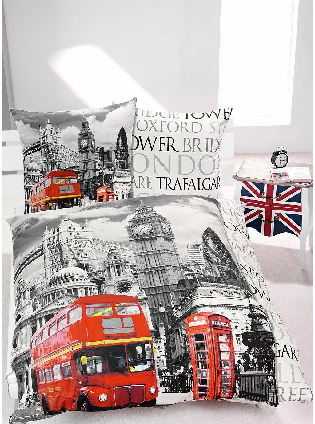 Foto Bettwäsche London Motiv London Bestellen Weltbildde