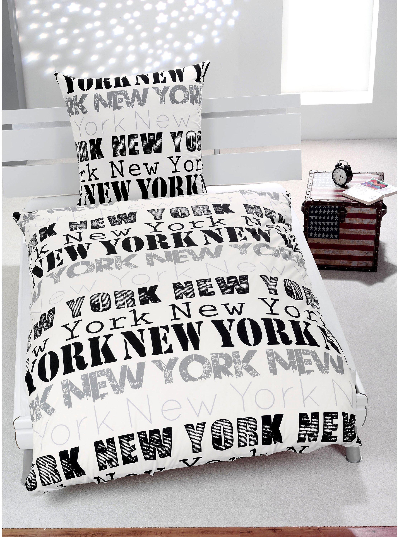 Foto Bettwäsche New York Motiv New York Bestellen Weltbildde