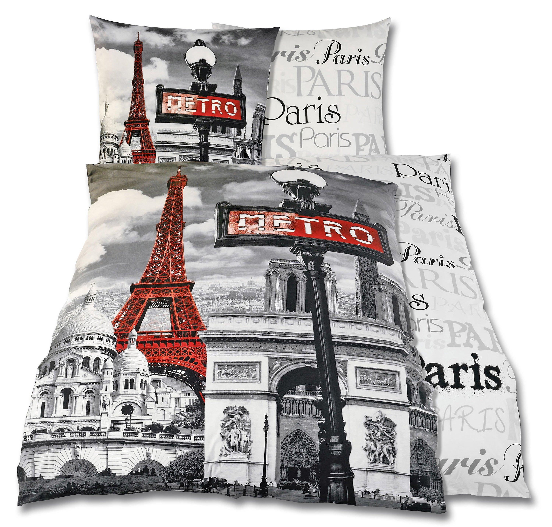 Foto Bettwäsche Paris Motiv Paris Bestellen Weltbildat
