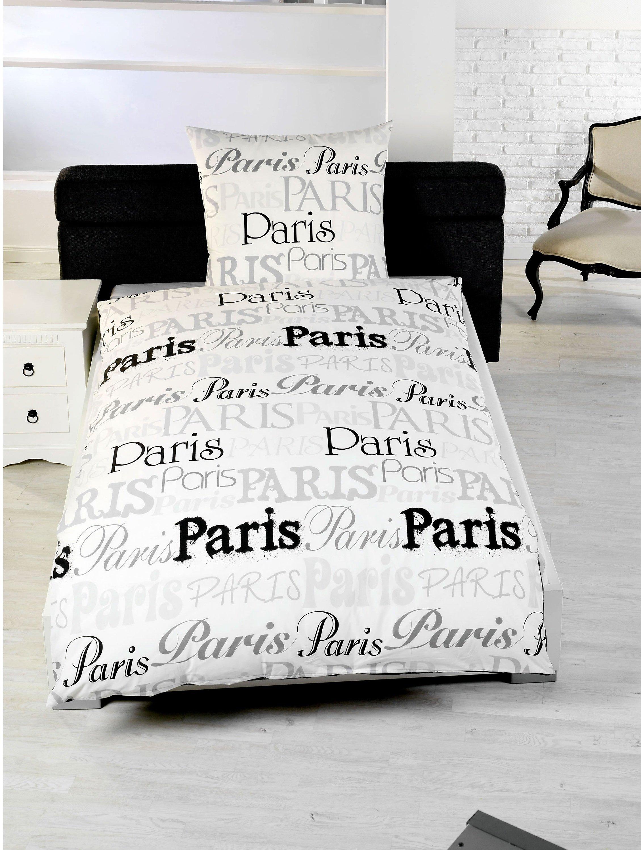 Foto Bettwäsche Paris Motiv Paris Bestellen Weltbildde