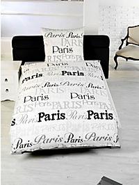 foto bettw sche paris motiv paris bestellen. Black Bedroom Furniture Sets. Home Design Ideas