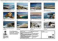Foto-Momente Portugal - Felsen, Sand und Meer (Wandkalender 2019 DIN A2 quer) - Produktdetailbild 1