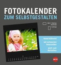 Fotokalender zum Selbstgestalten klein schwarz