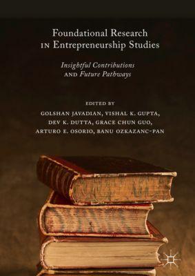 Foundational Research in Entrepreneurship Studies