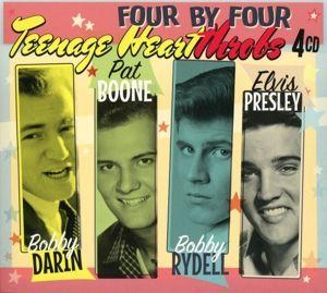 Four By Four-Teenage Heartthrobs, Bobby Darin, Pat Boone, Bobby Rydell, Elvis Presley