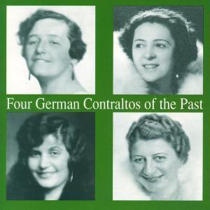 Four German Contraltos Of The, Willer, Liebenberg, Olszewska
