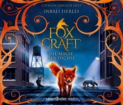 Foxcraft - Die Magie der Füchse, 5 Audio-CDs, Inbali Iserles