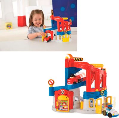 FP Little People 2-in-1 Einsatzzentral