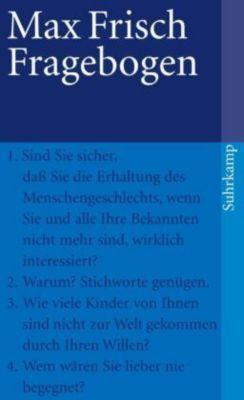 Fragebogen, Max Frisch
