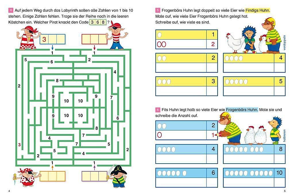 Fragenbär: Richtig rechnen 1. Klasse Buch bestellen
