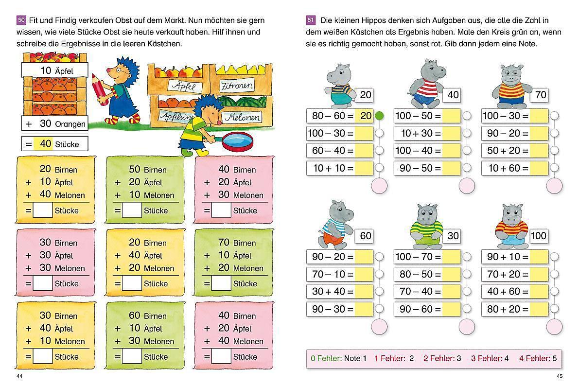 Fragenbär Richtig Rechnen 1 Klasse Buch Bestellen Weltbildde