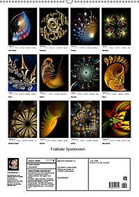 Fraktale Spielereien (Wandkalender 2019 DIN A2 hoch) - Produktdetailbild 13