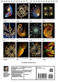 Fraktale Spielereien (Wandkalender 2019 DIN A4 hoch) - Produktdetailbild 13