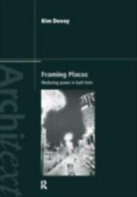 kim dovey framing places pdf