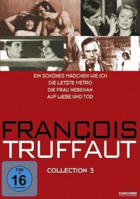 Francois Truffaut Collection, 4 DVDs