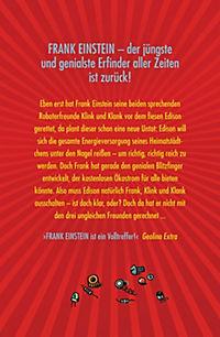 Frank Einstein Band 2: Die Jagd nach dem Blitzfinger - Produktdetailbild 1