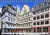 Frankfurt am Main die neue Altstadt vom Taxifahrer Petrus Bodenstaff (Tischkalender 2019 DIN A5 quer) - Produktdetailbild 2