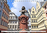 Frankfurt am Main die neue Altstadt vom Taxifahrer Petrus Bodenstaff (Tischkalender 2019 DIN A5 quer) - Produktdetailbild 4