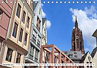 Frankfurt am Main die neue Altstadt vom Taxifahrer Petrus Bodenstaff (Tischkalender 2019 DIN A5 quer) - Produktdetailbild 12