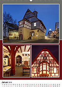 Frankfurt am Main und die schönsten Stadtteilen (Wandkalender 2019 DIN A2 hoch) - Produktdetailbild 1