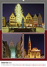 Frankfurt am Main und die schönsten Stadtteilen (Wandkalender 2019 DIN A2 hoch) - Produktdetailbild 12
