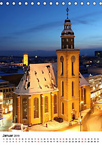Frankfurt am Main vom Frankfurter Taxifahrer Petrus Bodenstaff (Tischkalender 2019 DIN A5 hoch) - Produktdetailbild 1