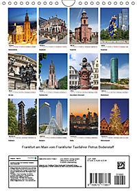 Frankfurt am Main vom Frankfurter Taxifahrer Petrus Bodenstaff (Wandkalender 2019 DIN A4 hoch) - Produktdetailbild 13