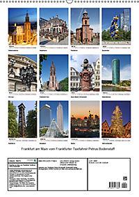Frankfurt am Main vom Frankfurter Taxifahrer Petrus Bodenstaff (Wandkalender 2019 DIN A2 hoch) - Produktdetailbild 13