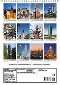 Frankfurt am Main vom Frankfurter Taxifahrer Petrus Bodenstaff (Wandkalender 2019 DIN A3 hoch) - Produktdetailbild 13