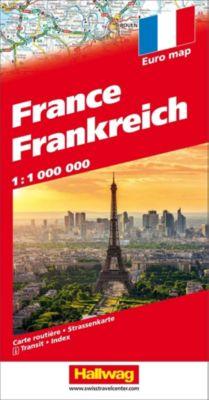 Frankreich Strassenkarte 1:1 Mio. -  pdf epub