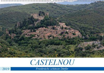 Frankreichs schönste Dörfer - Castelnou (Wandkalender 2019 DIN A2 quer), Thomas Bartruff