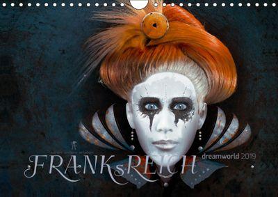 FRANKsREICH dreamworld 2019 (Wandkalender 2019 DIN A4 quer), Frank Melech