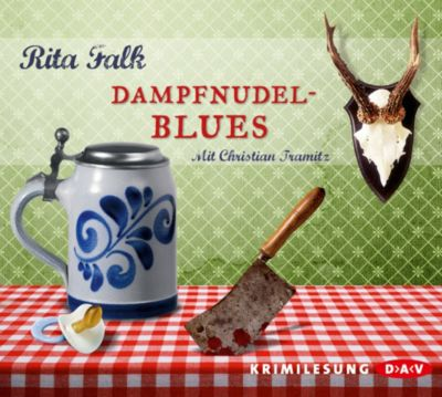 Franz Eberhofer Band 2: Dampfnudelblues (4 Audio-CDs), Rita Falk
