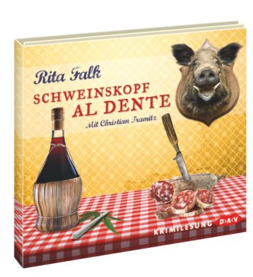 Franz Eberhofer Band 3: Schweinskopf al dente (4 Audio-CDs), Rita Falk