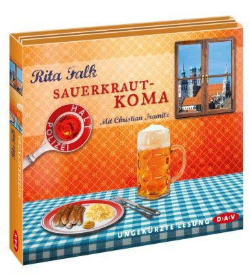 Franz Eberhofer Band 5: Sauerkrautkoma (6 Audio-CDs), Rita Falk