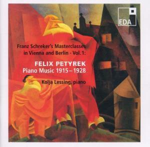 Franz Schreker'S Masterclasses In Vienna/Berlin 1, Kolja Lessing